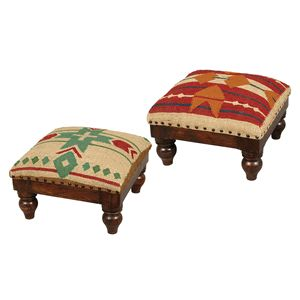 Western Leather Furniture U0026 Cowboy Furnishings From Lones Star Western  Decor Cute Footstools!