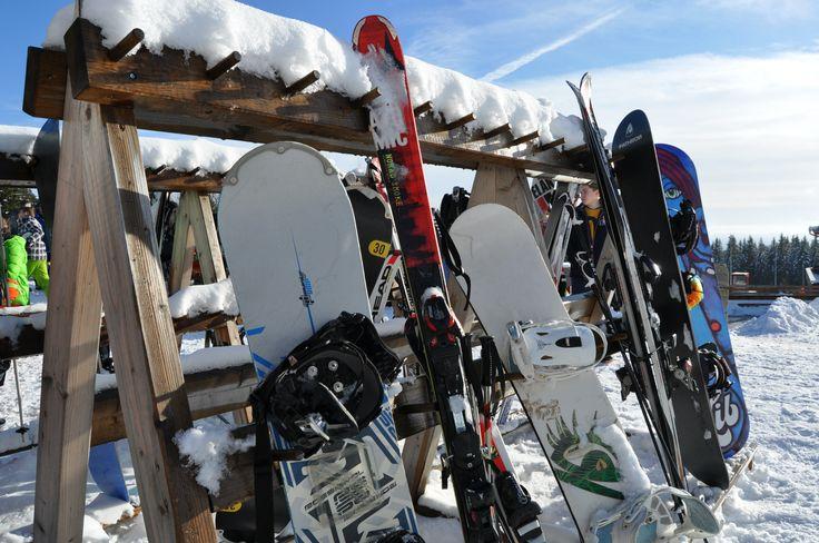 #Snowboard am #Wurmberg Skigebiet