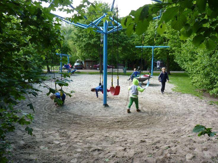 speeltuin op camping de Bouwte