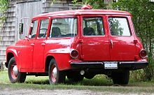 1966 International Harvester Travelall - Dad's had no side windows in the back