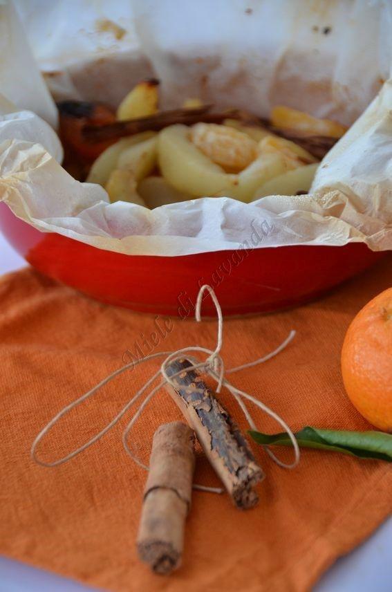 frutta di stagione al cartoccio