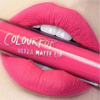 Wish | Colour Pop Matte Liquid Long Lasting Lipstick Lip Gloss Makeup Cosmetic 23 Colors