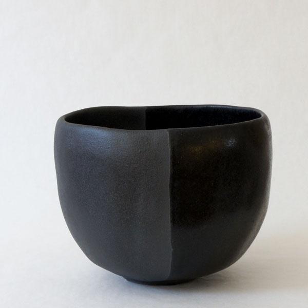 Tea Bowl: KOKUSAI, 2010glazed clay5 1/4″ x 5″ x 4″