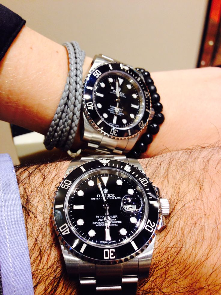 Rolex Submariner, Ref. 116610 LN and 114060 (No Date)