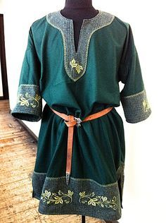 Fae Over-Tunic for Tina by RobynGoodfellow.deviantart.com on @deviantART · Larp CostumesCostume IdeasMedieval ...