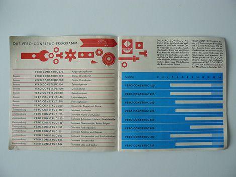 Vero Construc toy construction kit (1975)