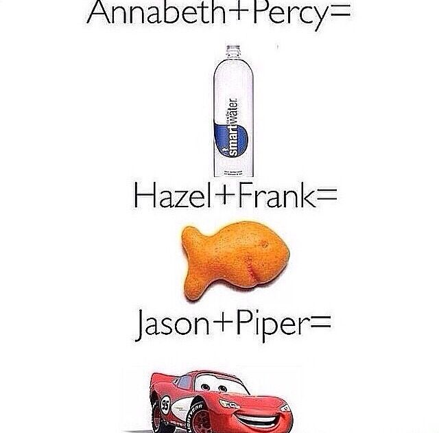 you'll only get it if you read the books lol. Gold fish is my personal favorite