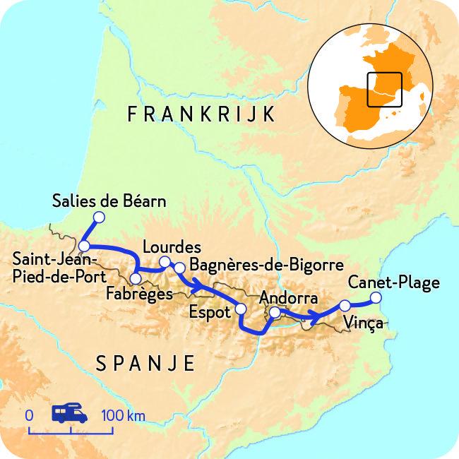 Camperreis Door Frankrijk En Spanje Nkc Spanje Reizen Spanje