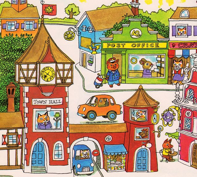 Time Travel Tuesday: Richard Scarry books