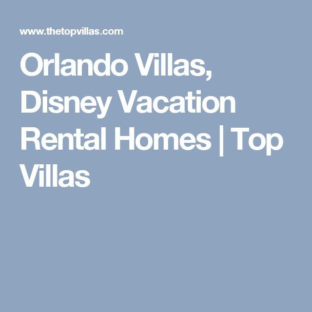 Orlando Villas, Disney Vacation Rental Homes | Top Villas