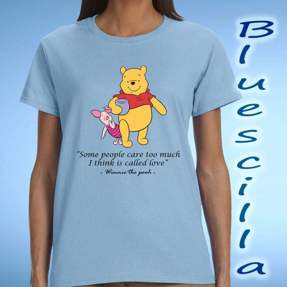 winnie the pooh quotes love design for women t by blueescilla