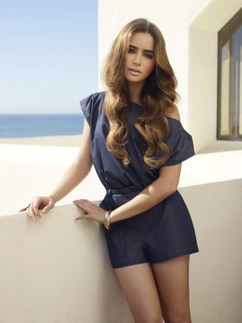 lily collins hair envy