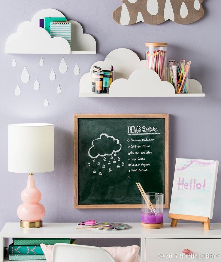 Create the perfect craft room for your mini maker with fun and functional decor!
