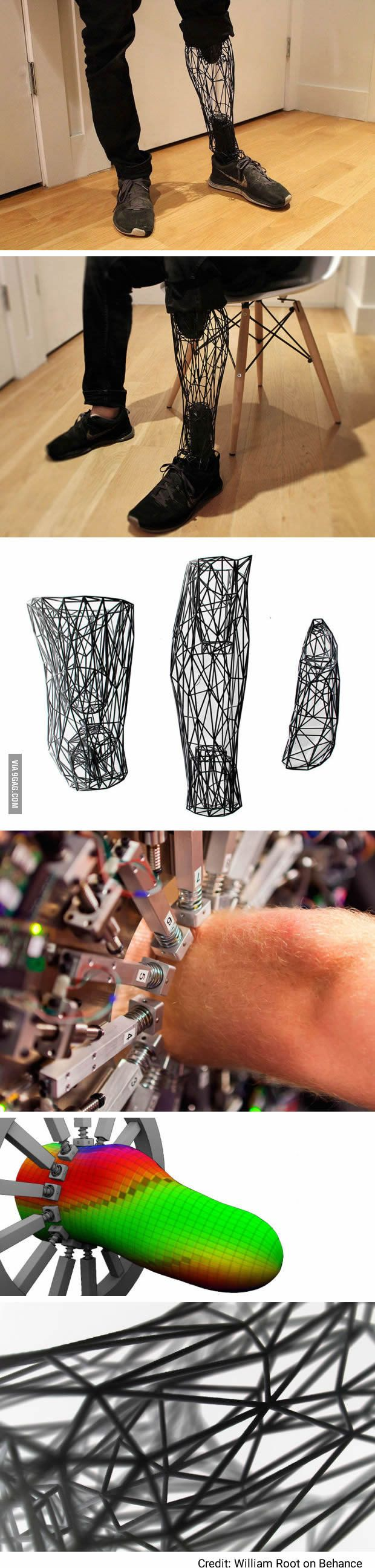 Best Prosthesis Images On Pinterest Anatomy Drawings And - Designer creates see through 3d printed prosthetics made from titanium