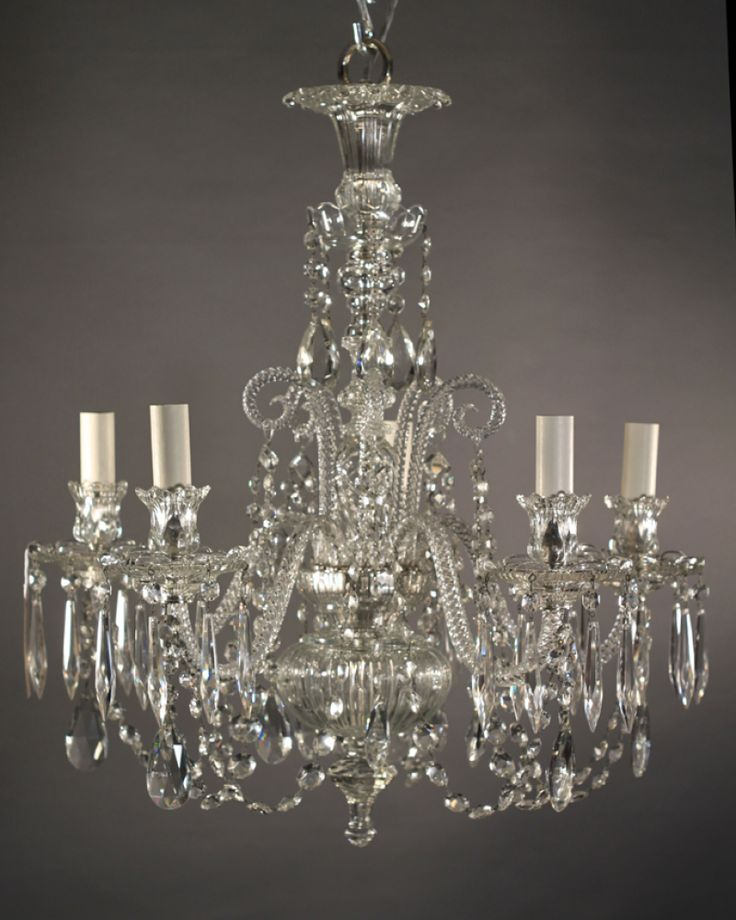 antique crystal | Antique Crystal Chandelier, English - 19 Best Crystal And Coloured Antique Glass Images On Pinterest