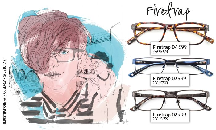 Firetrap eyewear - edgy urban fashion for teens