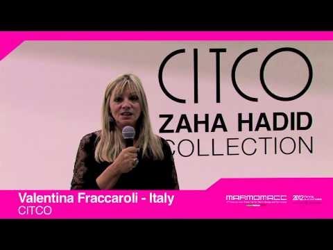 Marmomacc 2012: Valentina Fraccaroli interview (CITCO, Italy)