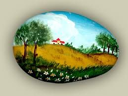 Risultati immagini per sassi dipinti a mano