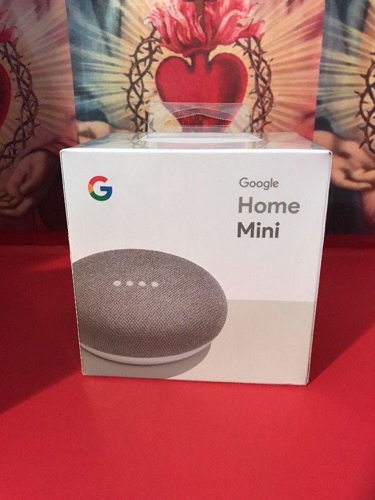Google Home Mini - Smart Small Speaker - Chalk Grey -  BRAND NEW-SHIPS WORLDWIDE #Google
