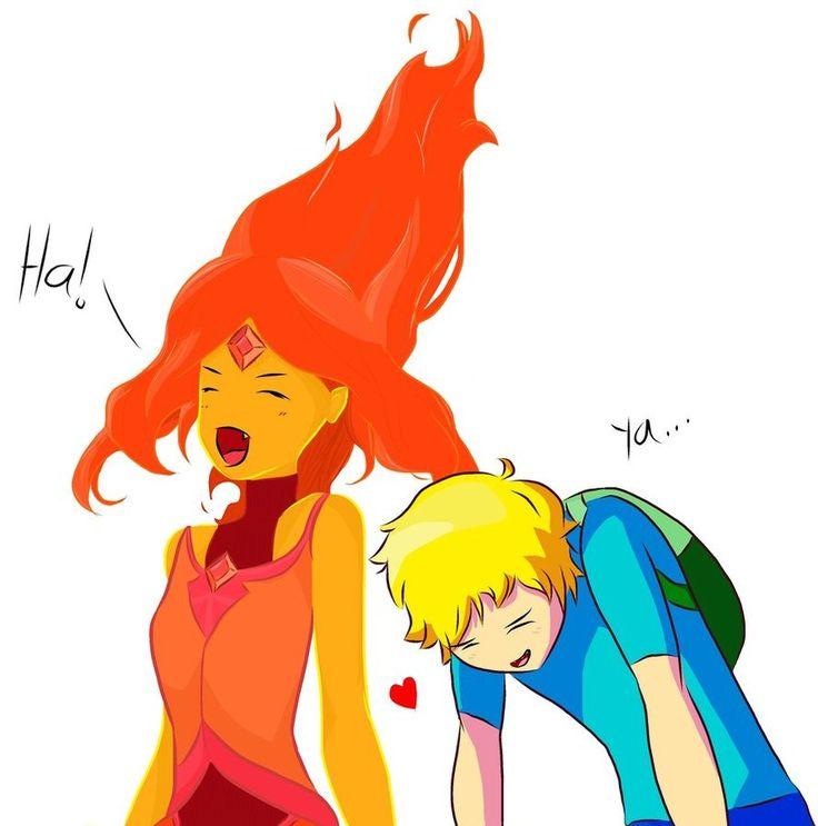 Фин и джейк и принцесса пламя картинки