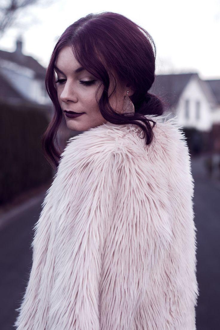 Selina Faux Fur Coat #3 | A self portrait | Moonlight Bohemian