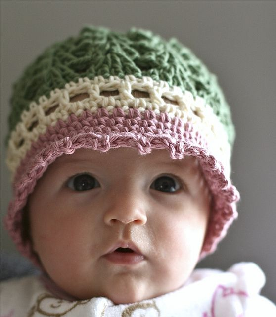 An adorable hat !  :)