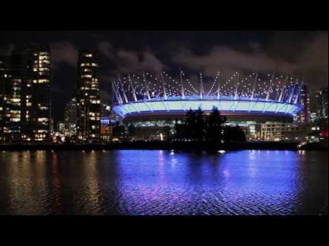 A beautiful video of BC Place Reignited as a Vancouver Skyline Icon with Lumenpulse LED Fixtures