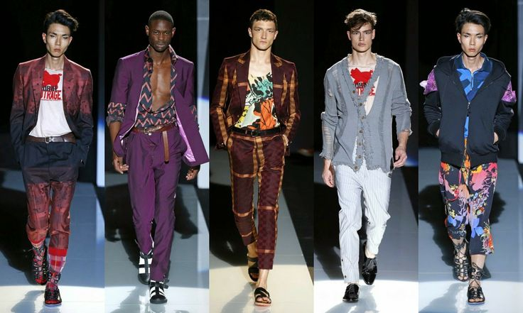 Vivienne Westwood  #Fashion #moda #men #hombre  http://cuchurutu.blogspot.com.es/2014/06/la-semana-de-la-moda-masculina-en-milan.html
