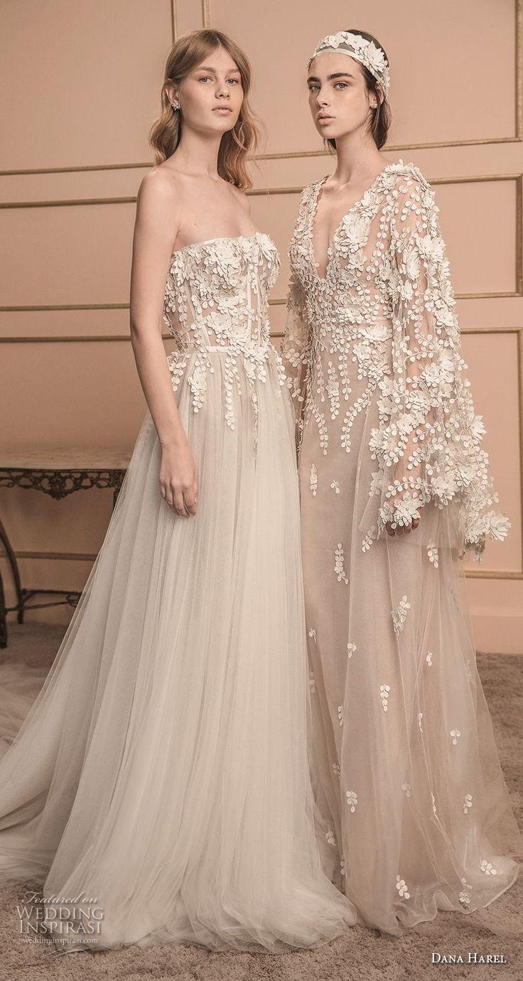 dana harel 2018 bridal romantic wedding gowns 1 -- Dana Harel 2018 Wedding Dresses #wedding #bridal #weddings