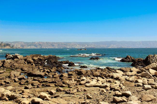 Viña del Mar e Valparaíso. Chile