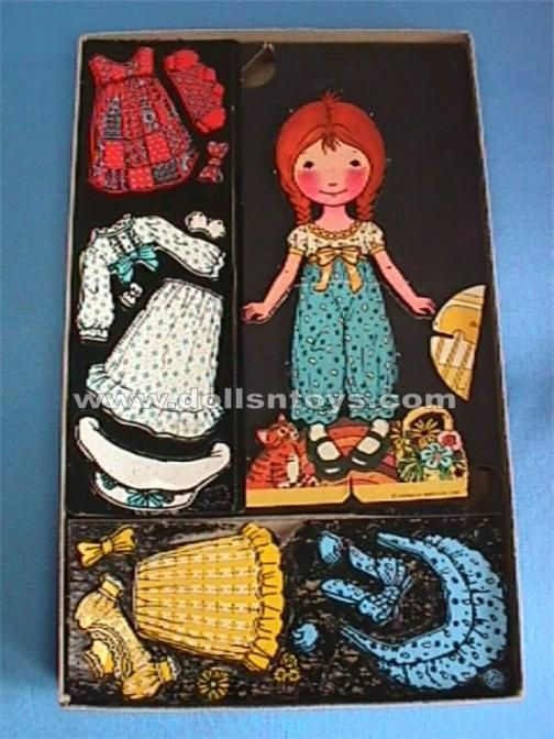 Holly Hobby Colorforms ~ charlie mae would love this, dress and un dressed Holly Hobby a million and one times....