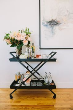 Superior Bar Cart Styling And Decor Ideas