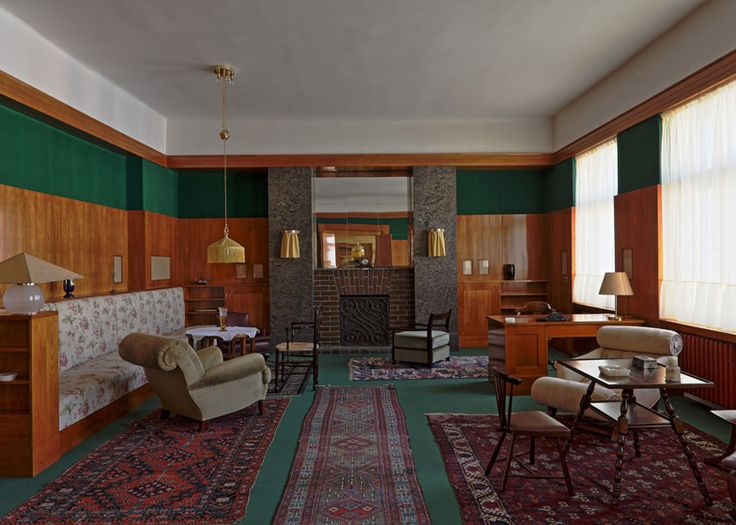 Information from april visitors to the czech city of pilsen will be capable to visit three restored interiors designed by influential modernist architect