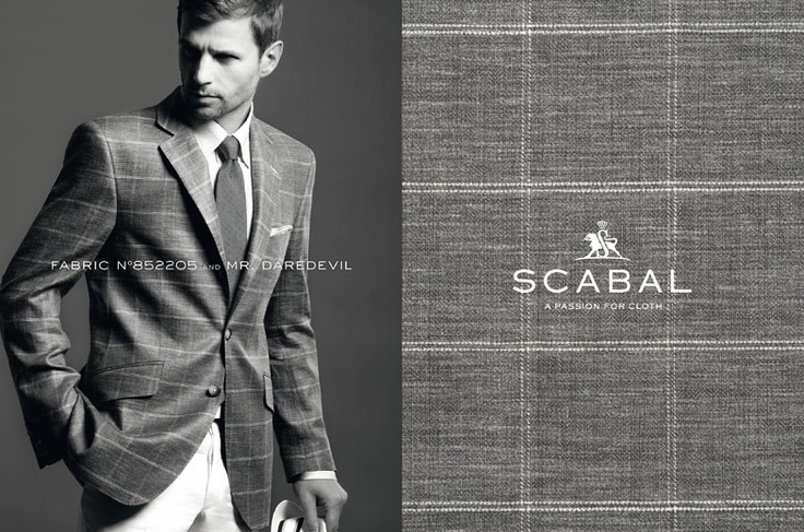Scabal Spring Summer 2013 Made to Measure Suit