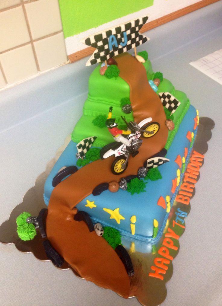 Dirt Bike Cake Cake Creations Cake Bike Cakes Dirt