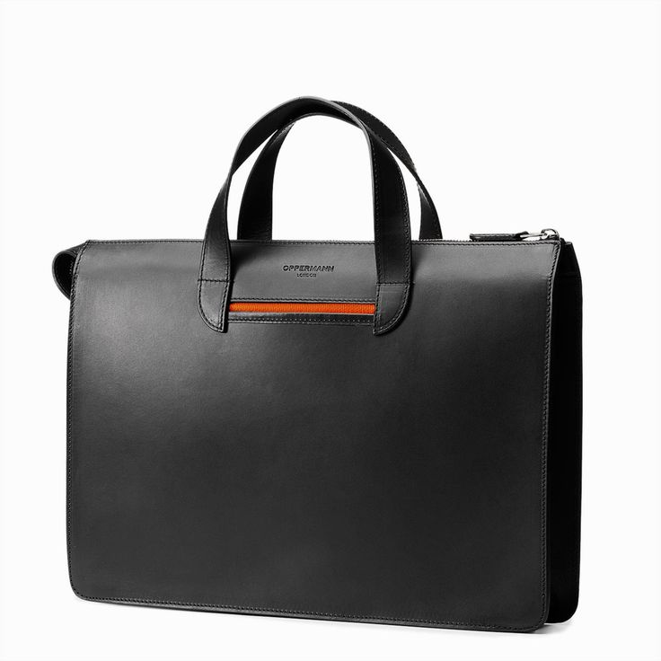 Elegant yet sharp, the Vallance is the choice for a slim briefcase.