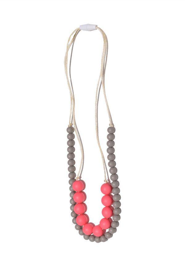 Deila Silicone Teething Necklace| Mama & Little Silicone Teething Jewelry