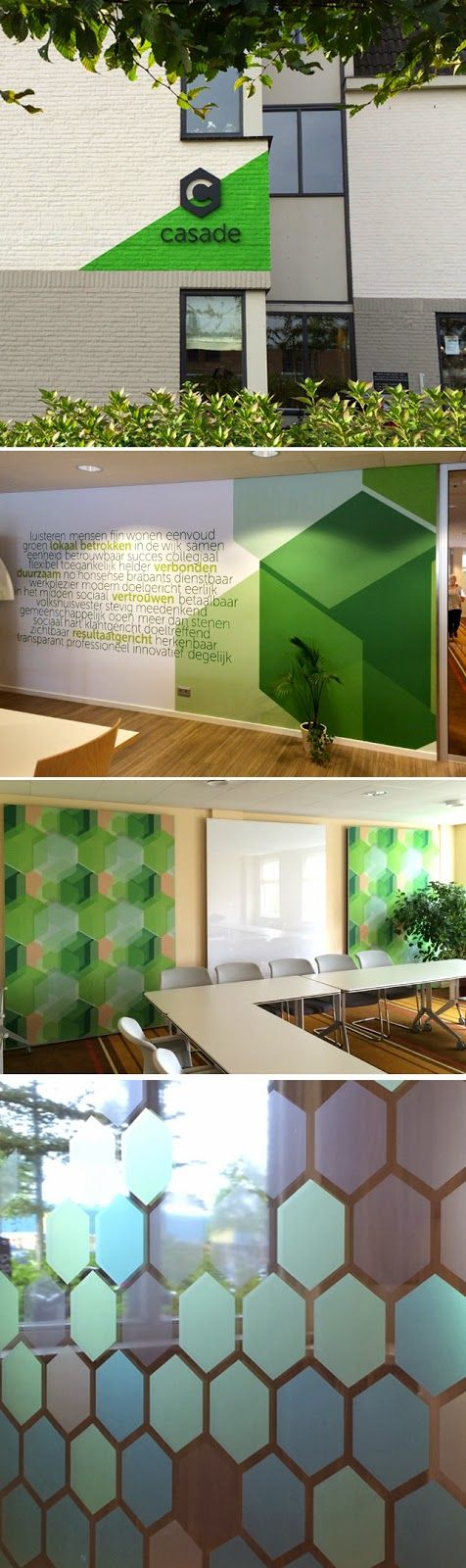 2d studio in vorm | signage and interior decoration for Casade