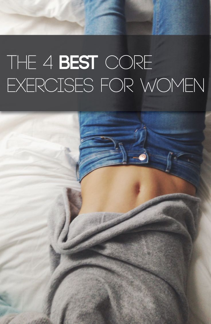 Try doing 3 sets of 12 of each of these exercises every
