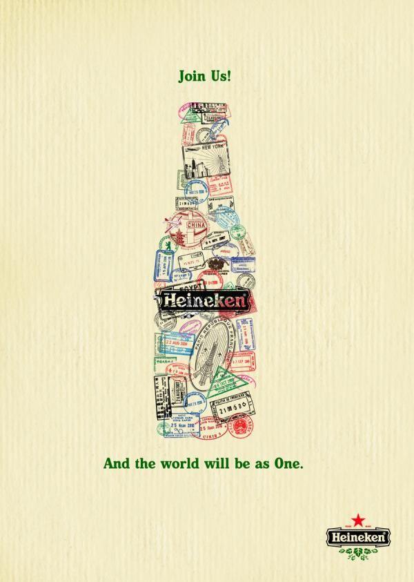 heineken ads 35 Creative Advertisement Posters For Your Inspiration