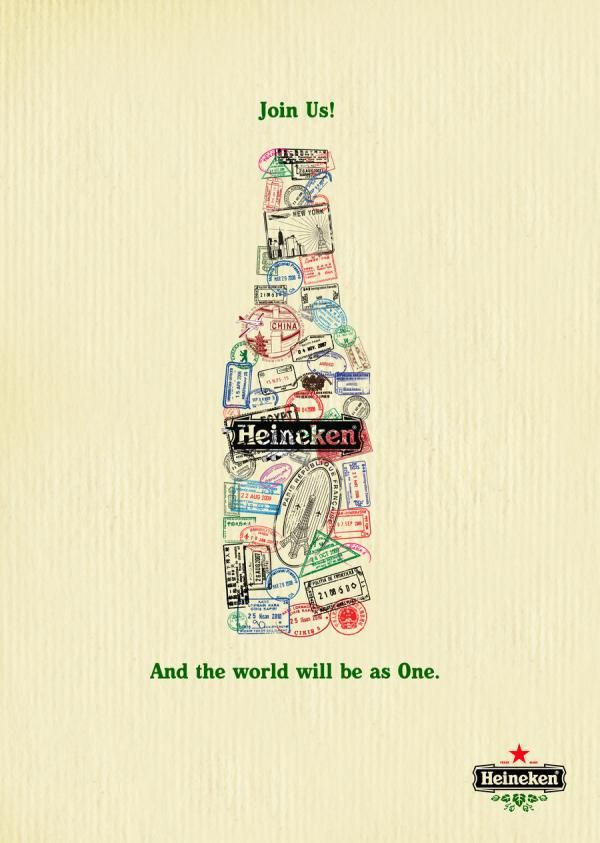 heineken ads 35 Creative Advertisement Posters For Your Inspiration