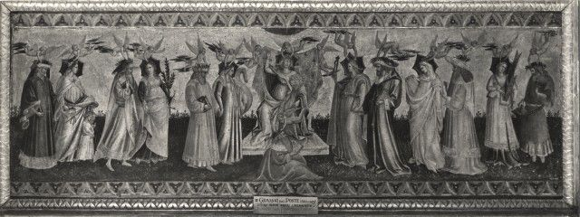 Archivo Más , Giovanni di Marco (Giovanni dal Ponte) - sec. XV - Allegorie delle Arti Liberali - insieme