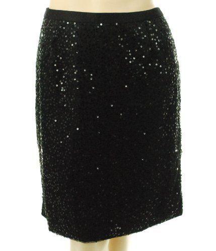 Sutton Studio 9609 Sequin Skirt Black 20 Sutton Studio. $25.07