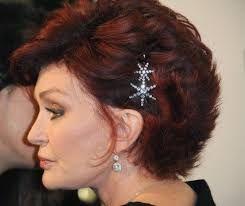 Image result for sharon osbourne hairstyles back