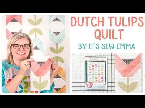 Have You Made This Dutch Tulip Block Yet? – Crafty House