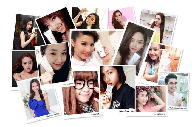 Mỹ phẩm Sakura chính hãng gây sốt trên loạt facebook của người nổi tiếng