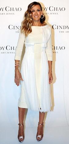 Sarah Jessica Parker. Little White Dress.