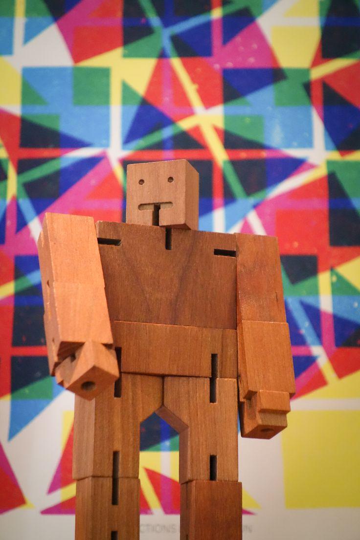 cubebot, cherrywood