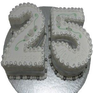Best 25th Wedding Anniversary Cakes