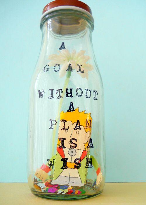 Sweet Tidings: DIY Tutorial: 'Le Petit Prince Inspiration Jar